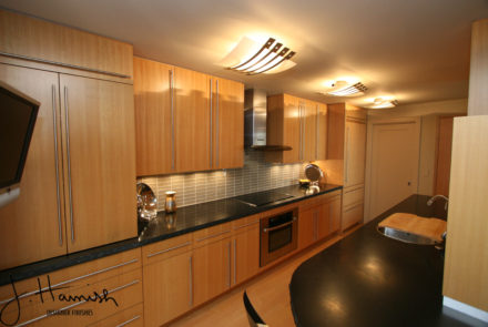 wood finishing kitchen cabinet modern finish